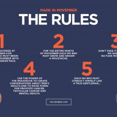 Movember - Rules