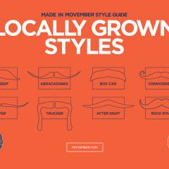 Movember - Style guide