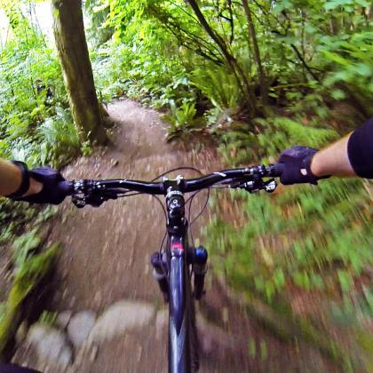 'Nicole's Trail' on Burnaby Mountain