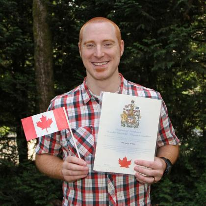 I officially became a Canadian citizen