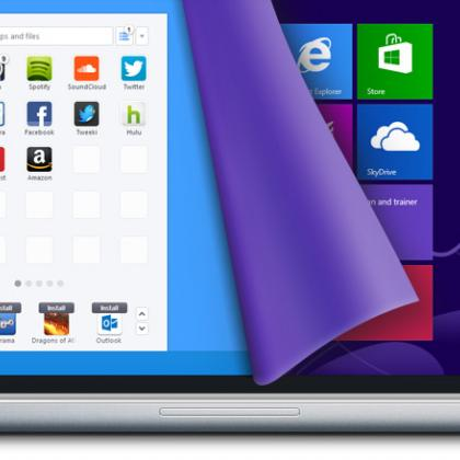 Windows 8 Start Menu by Pokki