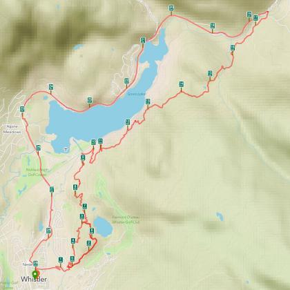 RunKeeper activity map